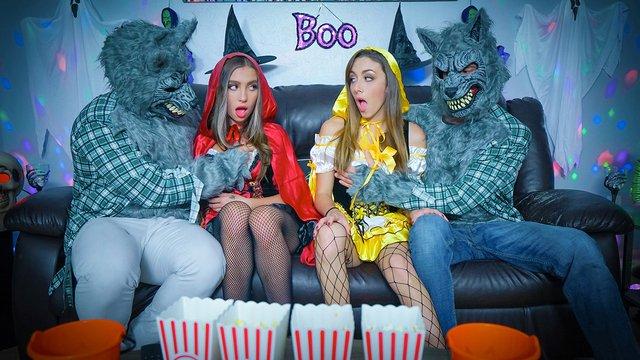 Daughter Swap – Bailey Base & Dani Blu – Halloween Switch Plan
